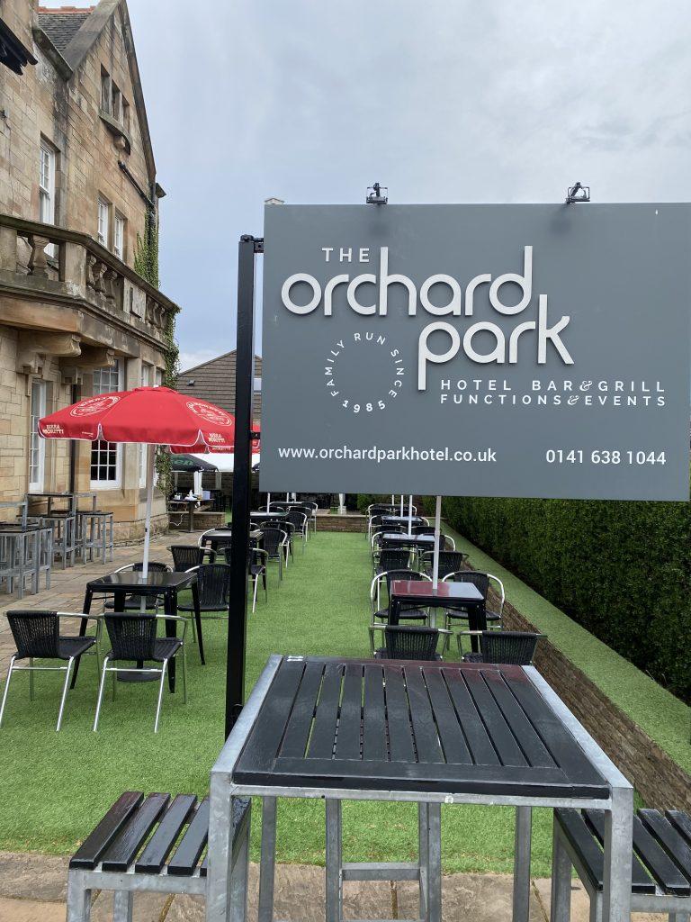 Garden at Orchard Park Hotel